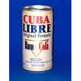 Lata De Cuba Libre De Panama-en La Plata