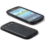Funda Silicona Samsung Galaxy S3 Siii I9300 + Film Lapiz