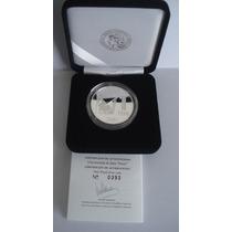 Moneda De Plata Proof 1 Peso Año 2007 Centenario Petroleo
