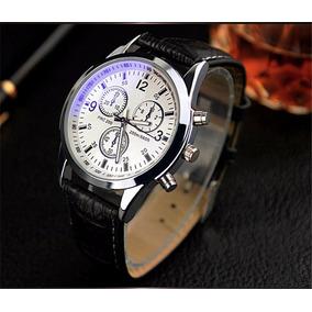Relógio Masculino Importado Clássico De Marca Yazole Barato