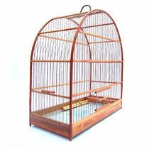 Gaiola Nº4 - Canário, Coleiro, Curió, Periquito E Pássaros