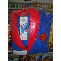 Roupão Robe De Banho Superman Dc Tamanho Adulto