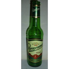 Botella Vacía Cerveza Rep.checa Staropramen-330 Cc.