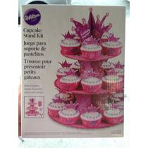 Base Para Cupcakes Con Tema De Princesas Marca Wilton