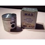 Piston Mad Zanella Due 80cc Std Mad - Industria Argentina