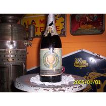 Antigua Botella De Sidra De La Fundacion Eva Peron