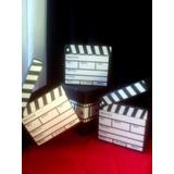 Cajas Para Torta Estilo Claqueta Hollywood U Oscar