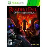 Resident Evil Operation Raccoon City Xbox 360 Original Sella