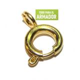 Cierre Argolla Con Resorte Broche Pulsera Collar X 50 Unid