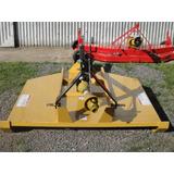 Desmalezadora Para Tractor Reforzada De 1.50mt Con Rueda