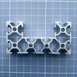 50cm Perfil Alumínio Estrutural V-slot C Padrão Openbuilds