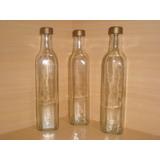 Botellas De Vidrio 500cc.licores Aceite Tapa Rosca Incluida