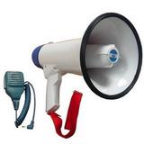 Megafono De 20w 8 Pulgadas Con Microfono De Mano Y Sirena