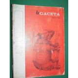 Revista La Gaceta Mexico 5/69 Damaso Alonso Leyva Fabila