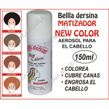 Bella Dersina Aerosol Matizador Cabello Cubre Canas Colorea
