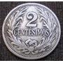 Uruguay 2 Centésimos Año 1936 De Cuproníquel Km#20 Sin Pulir