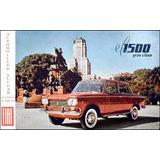Cable Velocimetro Fiat 1500 Nuevo