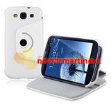 Samsung Galaxy S3 I9300 Funda Estuche Cobertor Holder Cuero