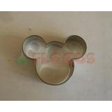 Cortante Molde Mickey Minnie Grande Flogus Galletita Cookie