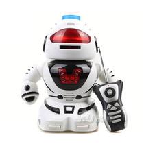 Robot Control Remoto Lanza Tazos Luz Y Sonido Calidad Jiujim