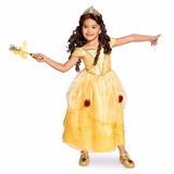 Vestido Disfraz De Bella Original De Disney Store Americano