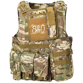 Chaleco Modular Molle Táctico Plate Carrier-airsoft-pball