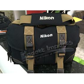 Bolsa Nikon D3100 D5500 D5300 D7100 D7200 D3200 D3300 D800