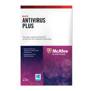 Antivirus Mcafee Plus Licencia Original 1 Año Tarjeta