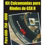 Kit Calcomanias Para Rines Suzuki Gsx R