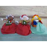 Boneca Chapeuzinho Vermelho 3 Em 1
