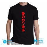 Camiseta Camisa Naruto Sharingan Rinnegan Mangekyou Animes