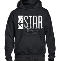 Gratis Envío Dhl ! Sudadera Star Labs The Flash Laboratories