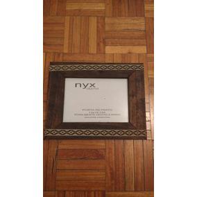 artesanal de madera con guarda de x cm