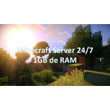 Server De Minecraft 24/7 | 1gb De Ram | Minecraft Hosting