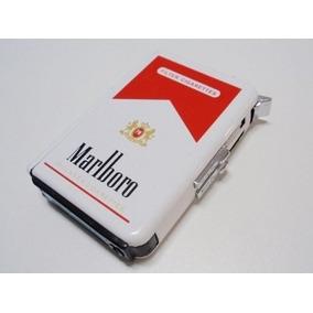 Cigarrera Automática Con Encendedor Catalitico Recargable