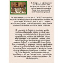 Superfoods. Hemp Corazones, Proteína Y Aceite.