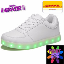 Tenis Led! 2017 Shoes Luminosos 12msi Envio Gratis