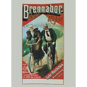 Poster De Propaganda Antigua - Bicicletas - 66 X 47