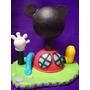 Adorno Para Torta Casa Playhouse Disney