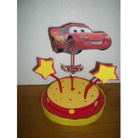 Centros De Mesa Infantiles Cars Campanita Dora Minnie Kitty
