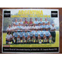 Poster Argentina Campeon Mundial De Futbol 95