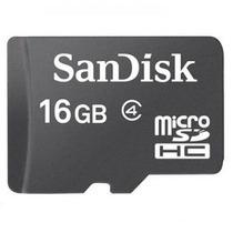 Memoria Micro Sd Sandisk De 16gb Para Blackberry Nokia 8900