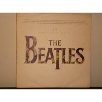 Beatles - 20 Greatest Hits - Sólo La Tapa De Lp Del Perú