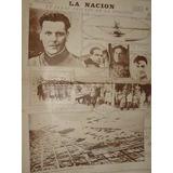 Diario La Nacion 27/2/27 Triunfo Aviacion Larre Borges Avion
