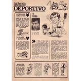 Carlos Morete River Plate Nota Revista Anteojito!!