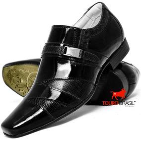 Sapato Social Casual Verniz Qualidade 100% Barato Exclusivo