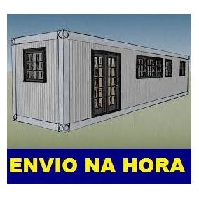 Projeto Manual Construçao Casa Container E-book ( Download )