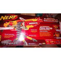 Nerf-the Largest Full-auto N-strike Vulcan Ebf-25 !!!!
