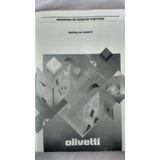 Vendo Manual Digitalizado Da Máquina Olivetti Praxis 204-ii