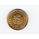 Moneda Uruguay 1965 De 10 Pesos Lote De 3
